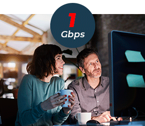 1Gbps Connections For Larger Businesses and LAN Extensions