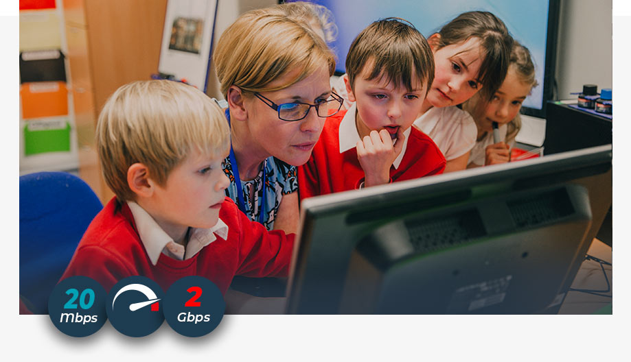 Broadband for Schools across North-East Scotland